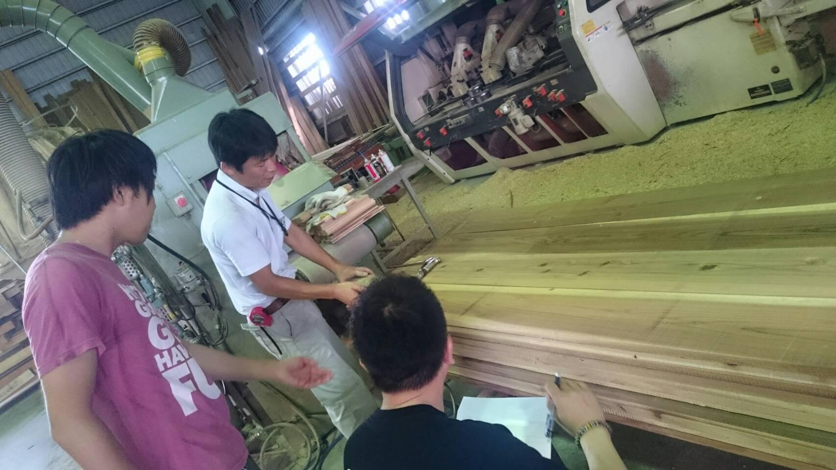 木のソムリエツアー第2回製材所に行く